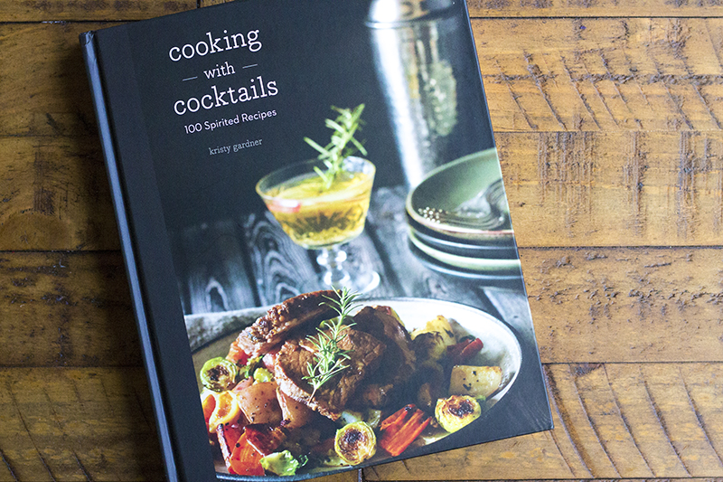 Cooking with Cocktails by Kristy Gardner of She Eats