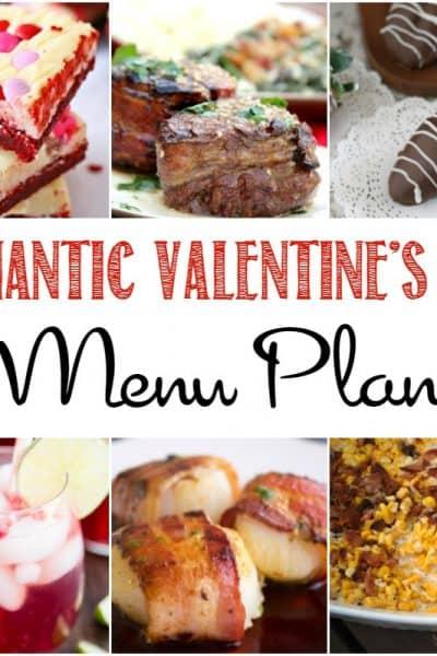 Romantic Valentine's Day Menu Plan