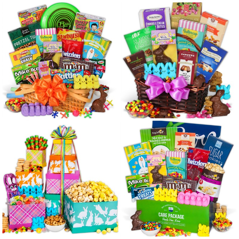 Looking for an awesome Easter gift to show your loved one you're thinking of them? Gourmet Gift Baskets are it!