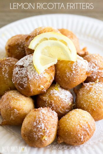 Lemon Ricotta Fritters are a light and fluffy bite that's perfectly poppable and always a hit at brunch!