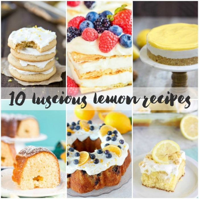 10 Luscious Lemon Recipes   Bread Booze Bacon