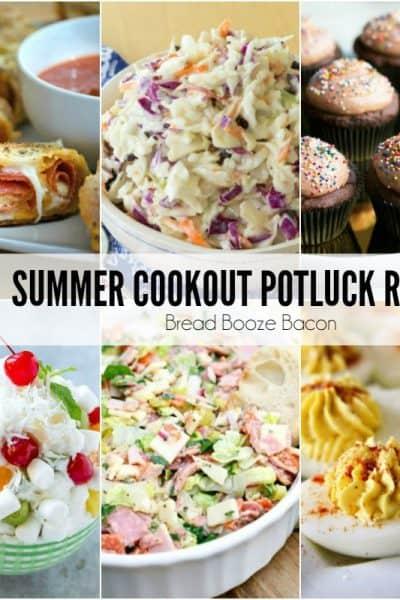 25 Summer Cookout Potluck Recipes