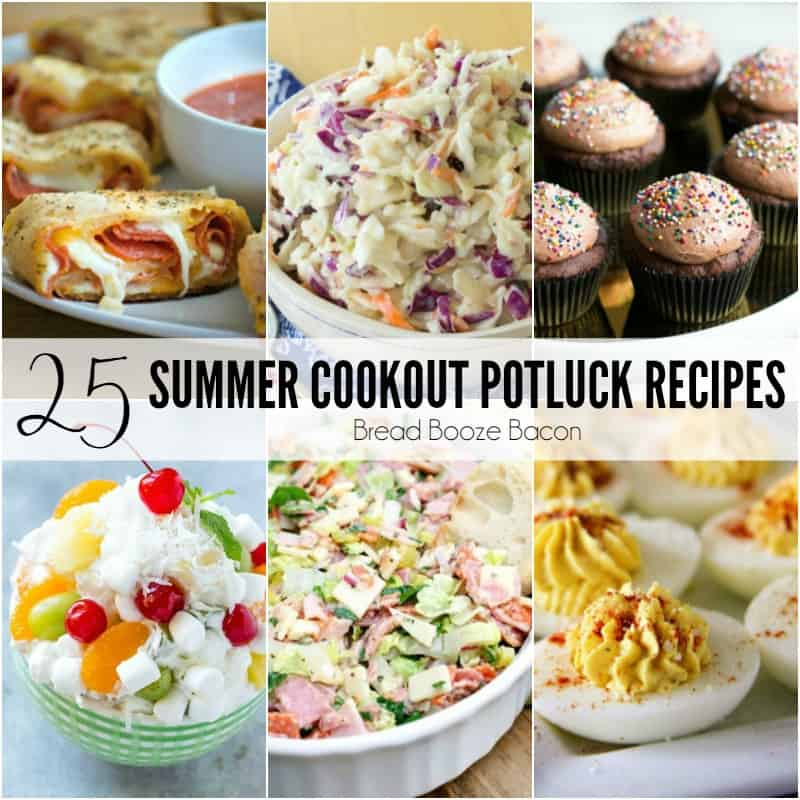 25 Summer Cookout Potluck Recipes