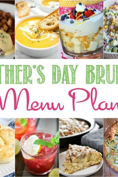 Make your mom's day extra special with these delectable Mother's Day Brunch Menu Plan recipes!