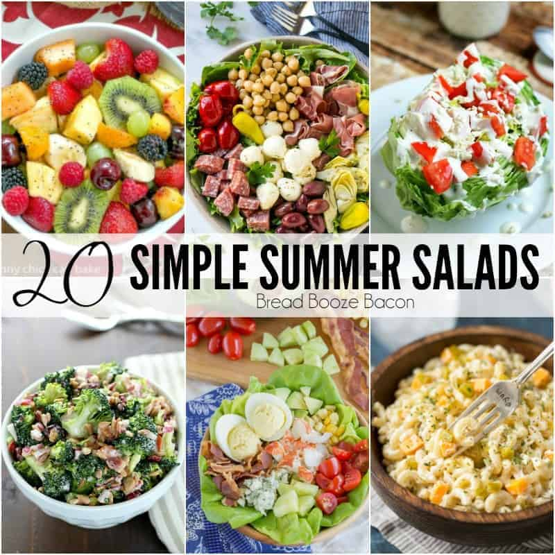 20 Simple Summer Salad Recipes