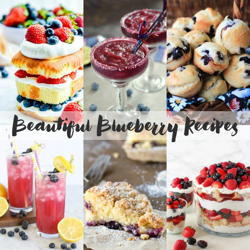 Celebrate summer with these beautiful blueberry recipes!
