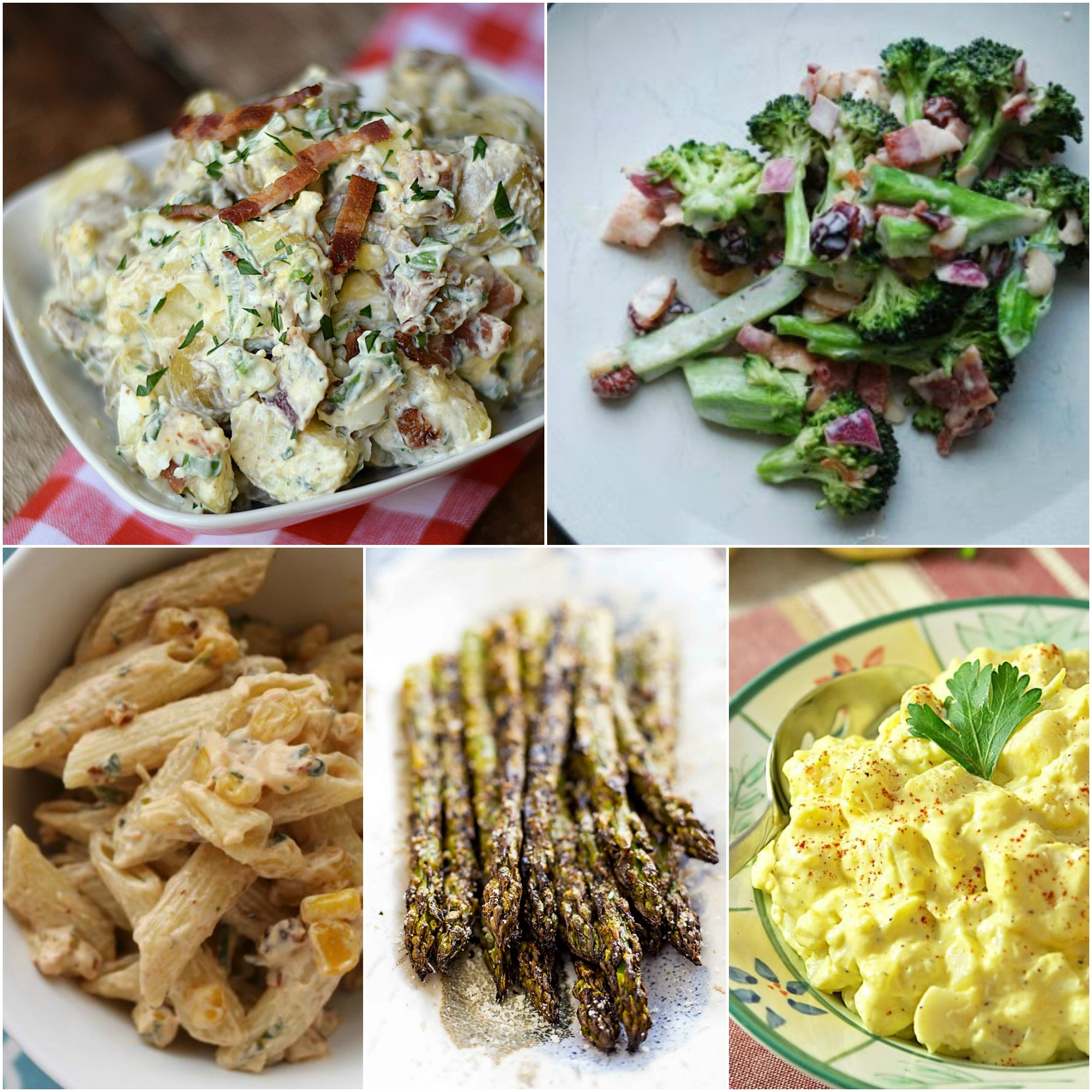 Father's Day BBQ Menu Plan Salads & Sides