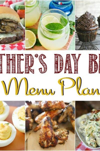 Father's Day BBQ Menu Plan