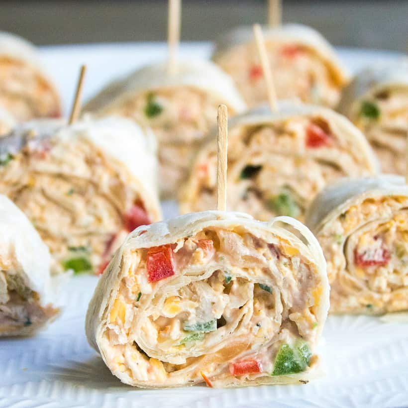 This easy Mexican Pinwheels Recipe is a party favorite that's full of bright, bold flavors you'll crave!