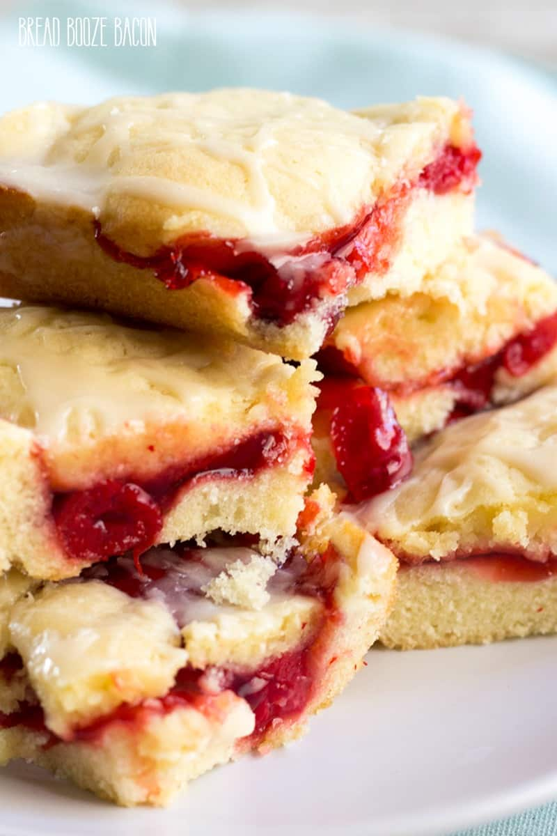 Cherry Pie Bars are an easy to make treat with all the pie flavors you love in bar form!