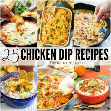 Get your party started with 25 Chicken Dip Recipes that will wow your crowd and have everyone coming back for seconds and thirds!