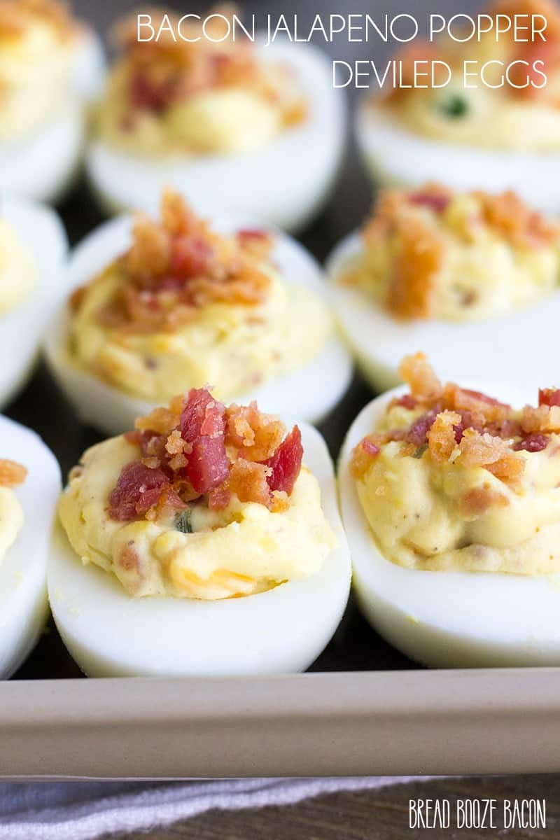 Bacon Jalapeno Popper Deviled Eggsare an addictively good appetizer that'll leave everyone wanting more!