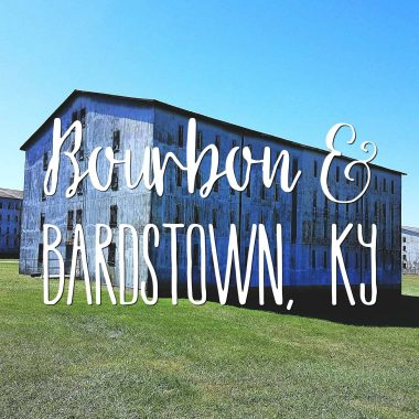 If you're heading to the bourbon belt, be sure to indulge in the paradise that is Bourbon & Bardstown, Kentucky!