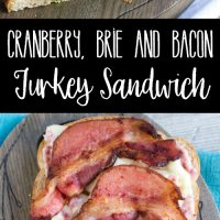 Get ready to love your Thanksgiving leftovers all over again! This Cranberry, Brie & Bacon Turkey