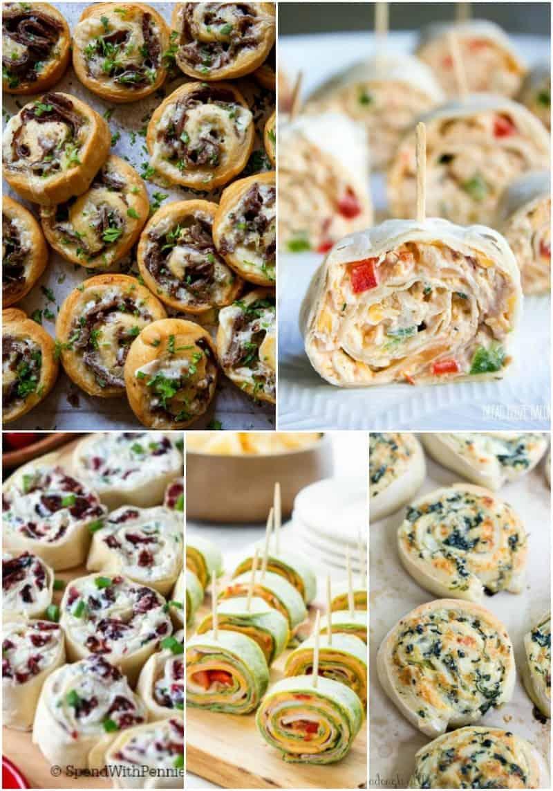 25 Party Pinwheel Recipes • Bread Booze Bacon