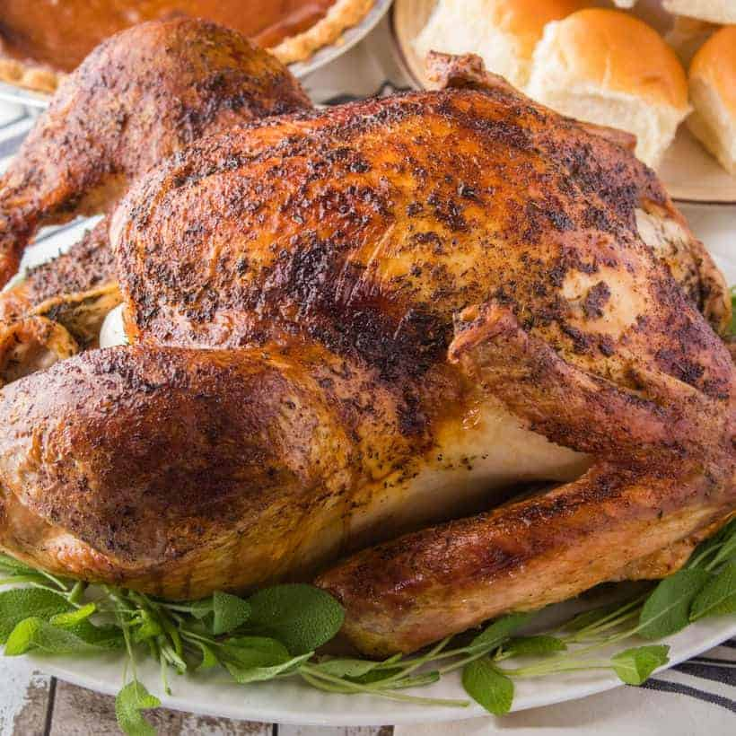 Need to know How to Cook a Thanksgiving Turkey for your holiday guests? This step-by-step recipe for a fool-proof roasted turkey comes out juicy every time!