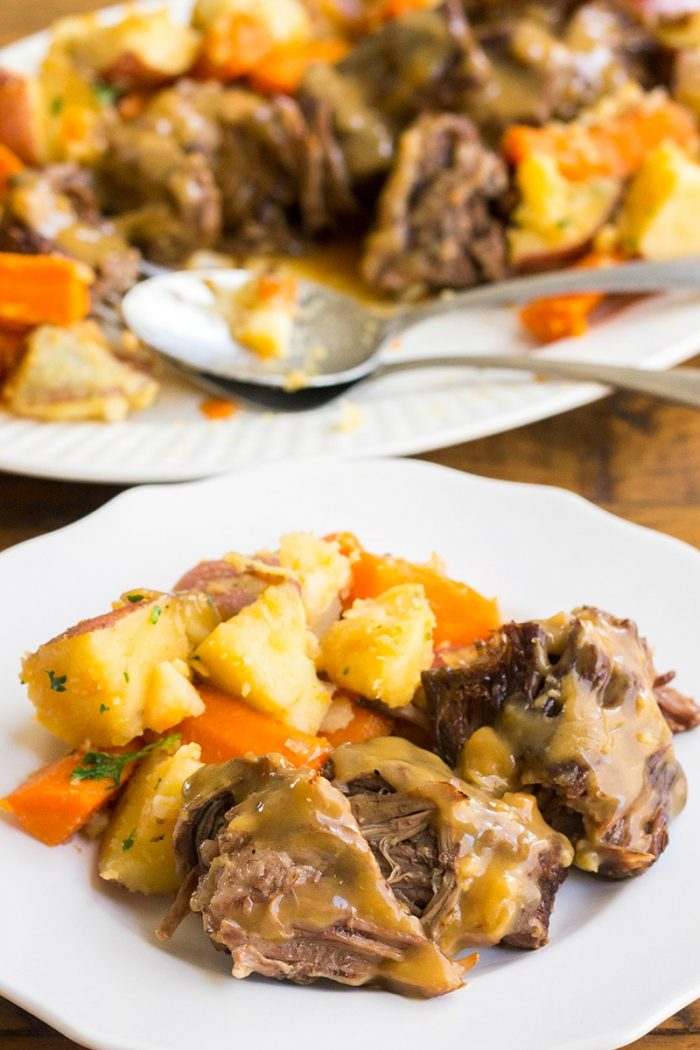 Old Fashioned Pressure Cooker Roast
