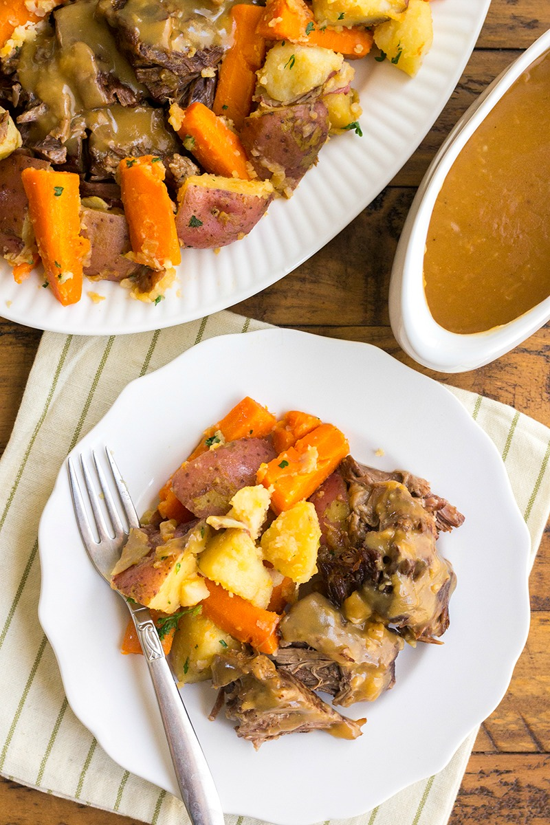 Instant Pot Old Fashioned Pot Roast With Video Bread