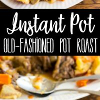 Instant Pot Old-Fashioned Pot Roast with Gravy & Vegetables is the best pot roast I've ever made. This easy, one-pot dinner is a family favorite!