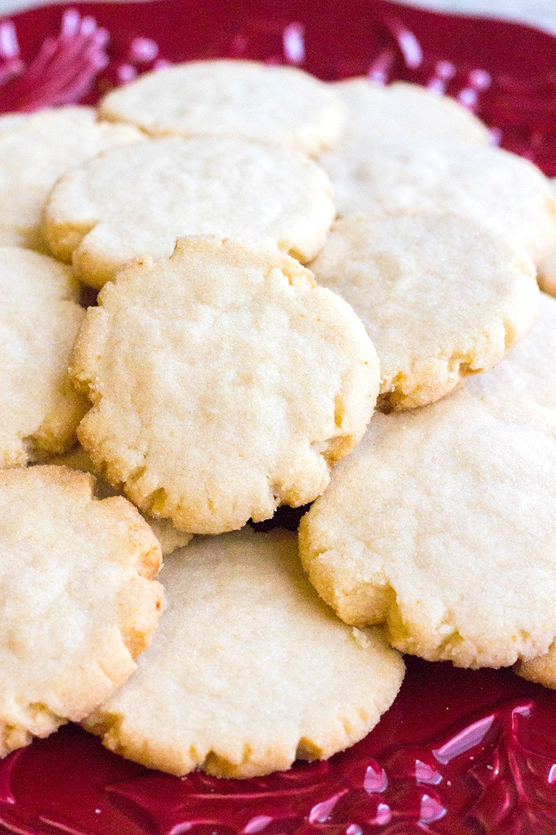 These easy Apple Cider Cookies are loaded with seasonal flavors you'll love. A little crumbly and sparkling with sugar, these cookies are a family favorite!