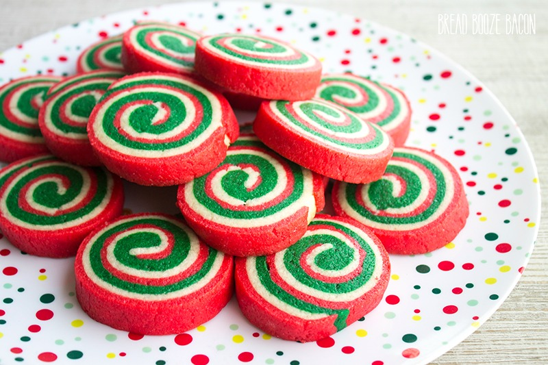Christmas Cookie Recipes.Christmas Cookie Pinwheels