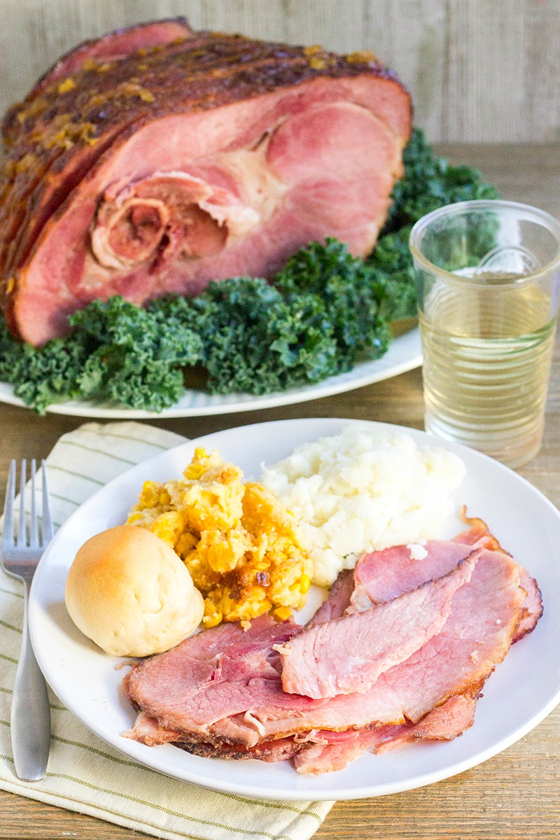 At holiday dinners, a big plate of meat is always the star. We love this Pineapple Glaze for Ham at Easter and Christmas time, and even for a weeknight meal now and again!