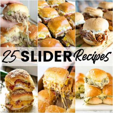I bet you can't choose just one of these 25 Slider Recipes to make! Loaded with flavor, these mini sandwiches are great for game day or your next party!