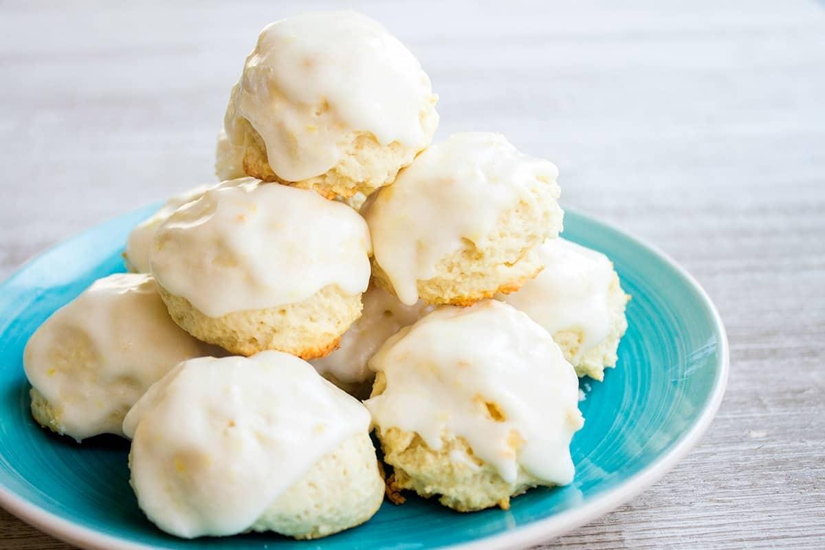 Italian Lemon Drop Cookies • Bread Booze Bacon