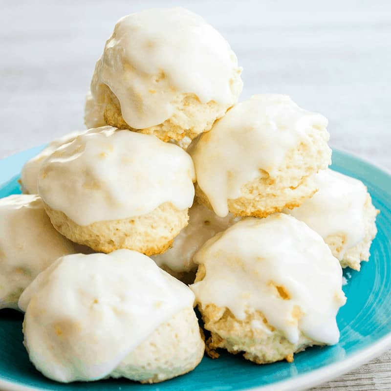 Italian Lemon Drop Cookies are a delicious dessert that's easy to make and SO yummy! With a big burst of citrus flavor, I bet you can't eat just one!