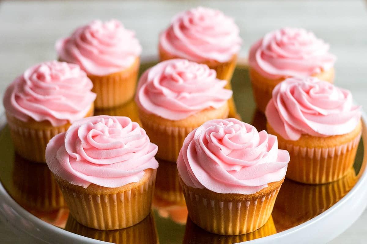 Pink Asti Cupcakes • Bread Booze Bacon