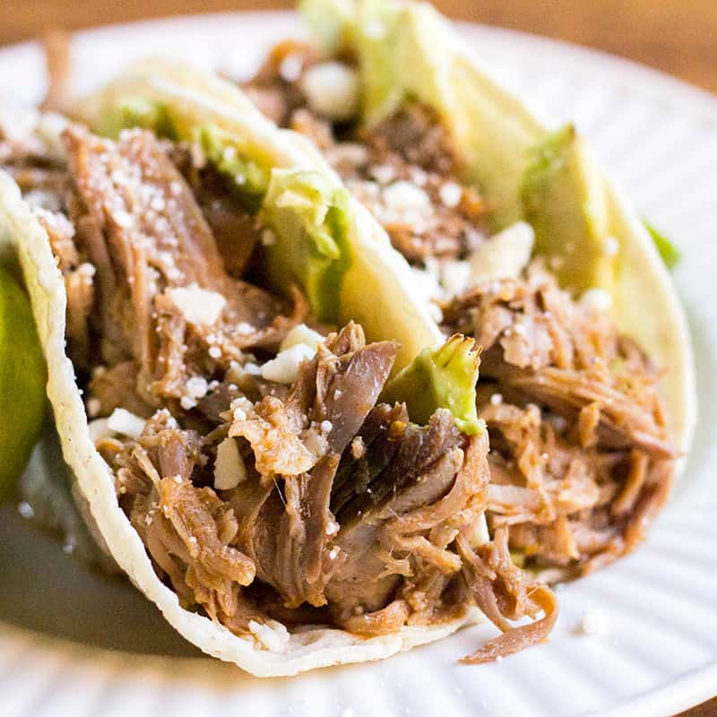 Cuervo Tecate Slow Cooker Carnitas Bread Booze Bacon