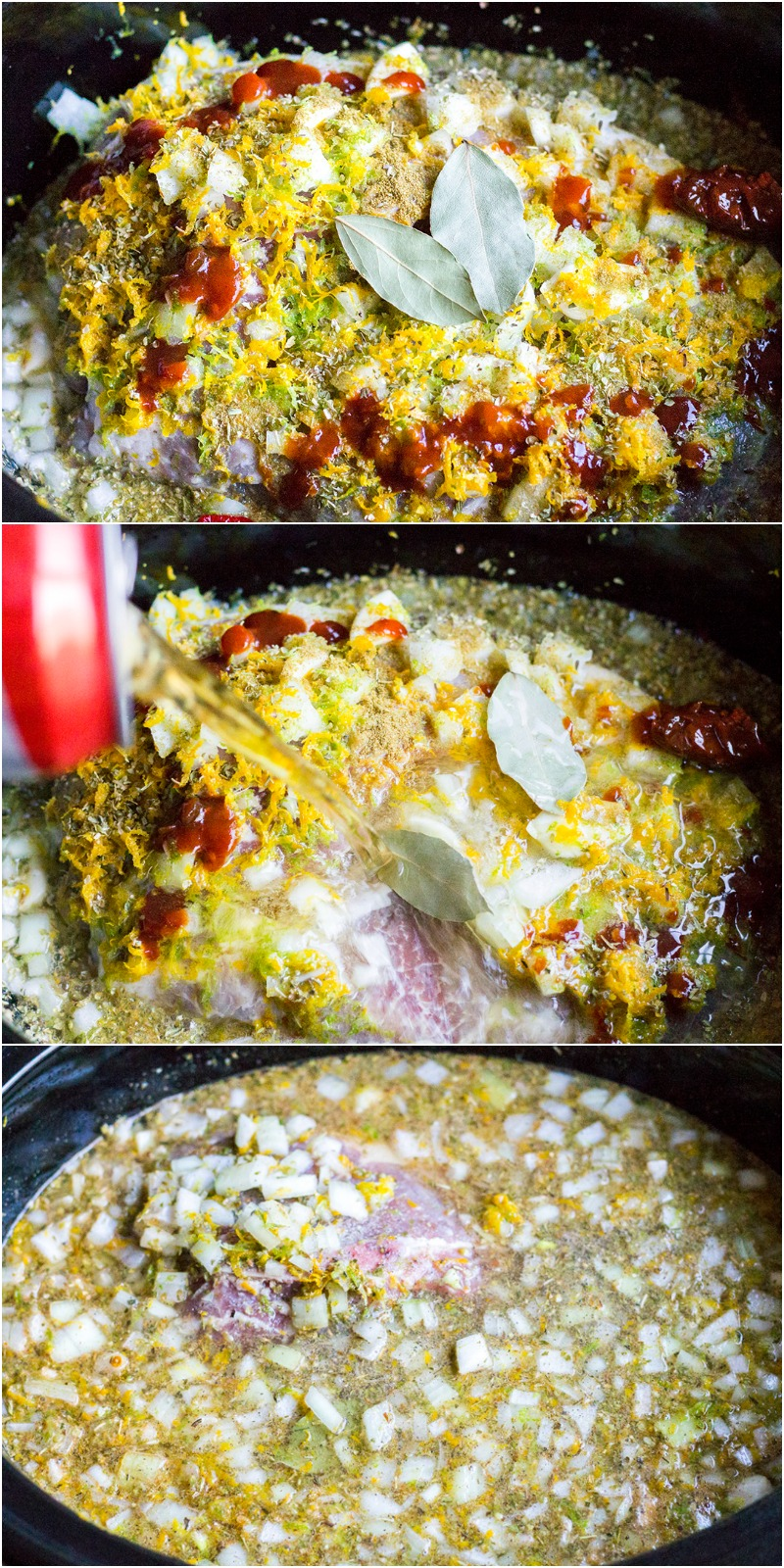steps to make Cuervo & Tecate Slow Cooker Carnitas
