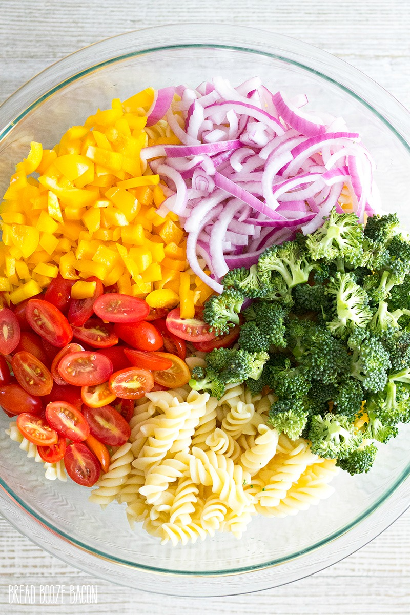 Vegetable Pasta Salad Recipe Bread Booze Bacon
