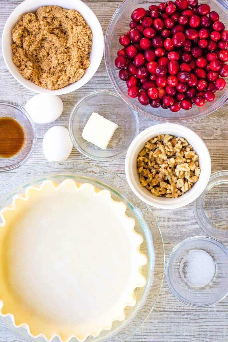 cranberry pie ingredients