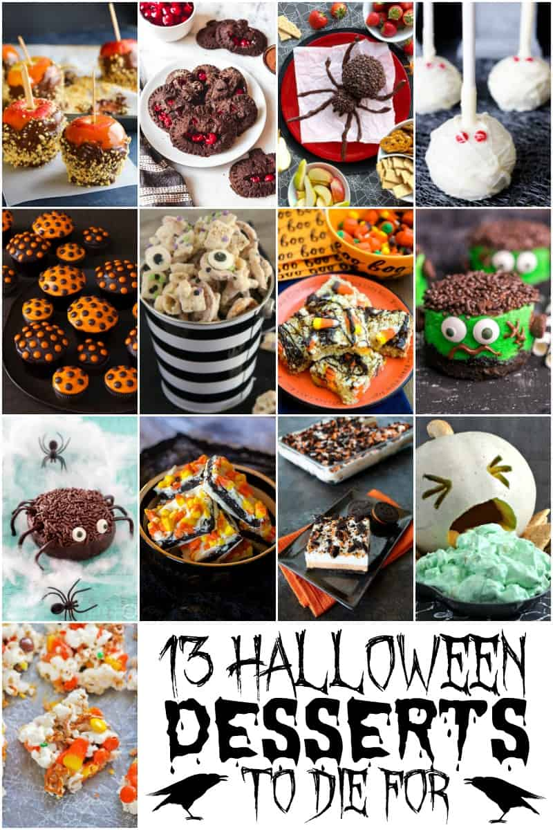 13 Halloween Desserts to Die For