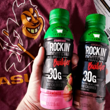 Shamrock Farms Rockin' Protein is my family's favorite way to nourish our bodies and get the protein we need to look, feel, and perform at our best!