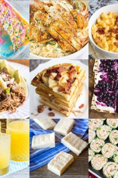 Instagram top nine recipes on Bread Booze Bacon for 2018