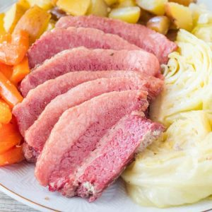 Corned Beef and Cabbage is a fool-proof recipe that anyone can make! This simple recipe is sure to become a St. Patrick's Day tradition at your house!