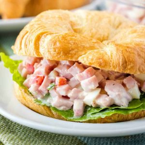 Take that leftover holiday ham and treat yourself to this tasty Ham Salad! A mid-west and Southern favorite, it'll give chicken salad a run for its money!