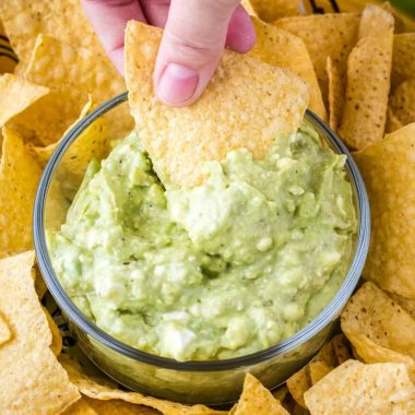 You won't believe the secret ingredient in my sister Lisa's Guacamole Dip! It makes this dip completely addicting. This is THE must make dip for our family!