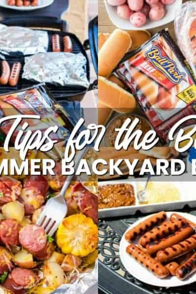 Get Outdoors and Enjoy the Warm Weather with These 5 Tips for the Best Summer Backyard BBQ! So Easy and Fun You'll Want to Grill Every Day!