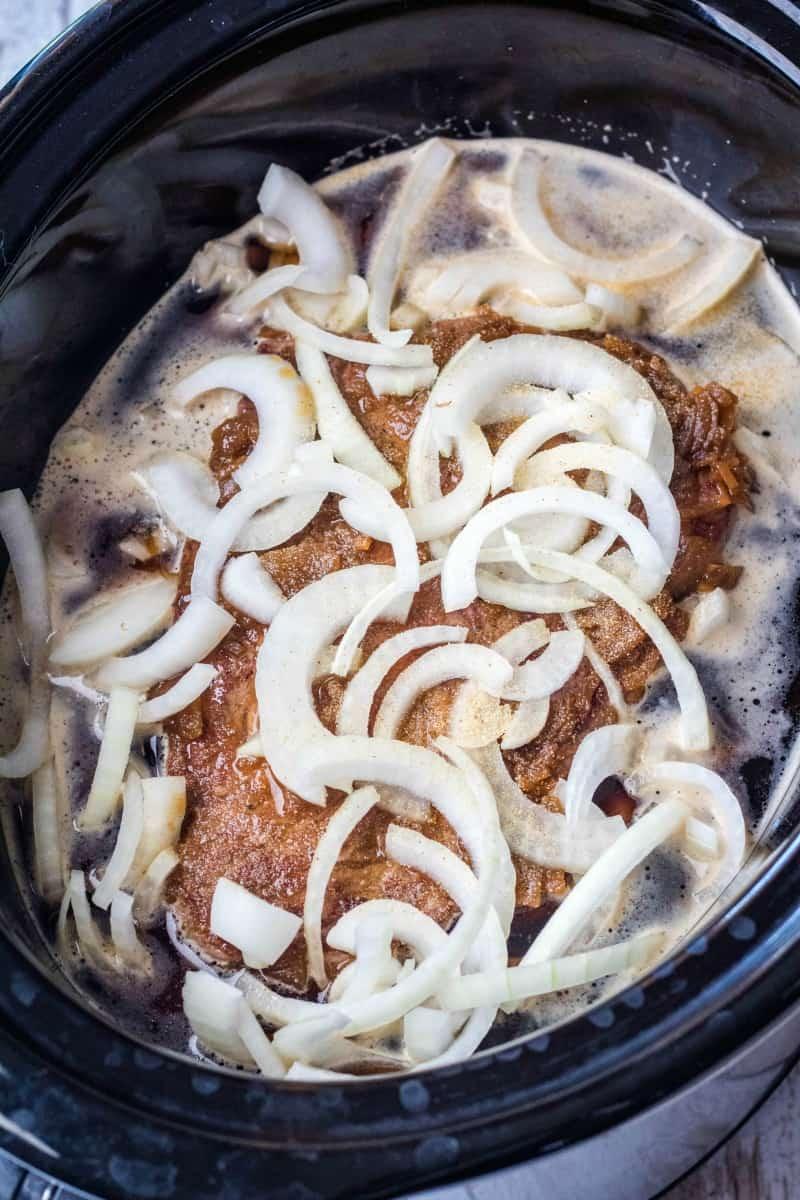 crock pot french dip ingredients
