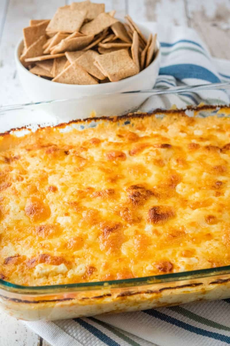 buffalo chicken dip recipe with crackers