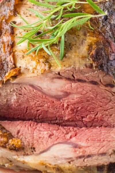 You don't have to wait for the holidays to enjoy Prime Rib! Any day is the perfect day for this perfectly seasoned, fool-proof prime rib recipe!