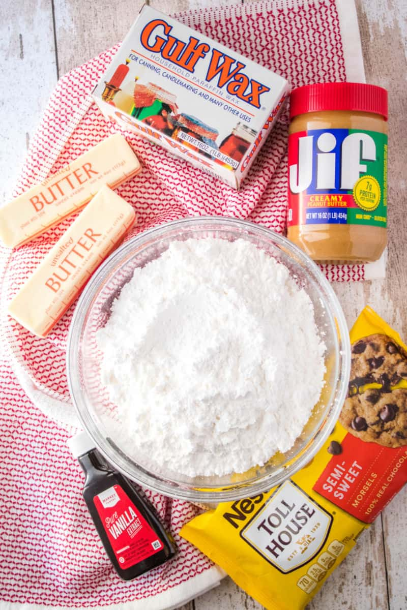 buckeye recipe ingredients