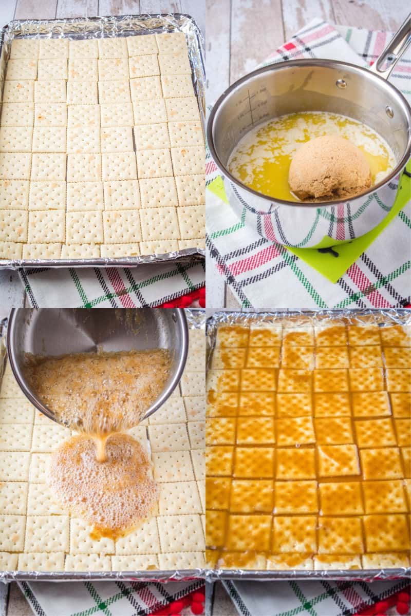 steps to make saltine cracker toffee