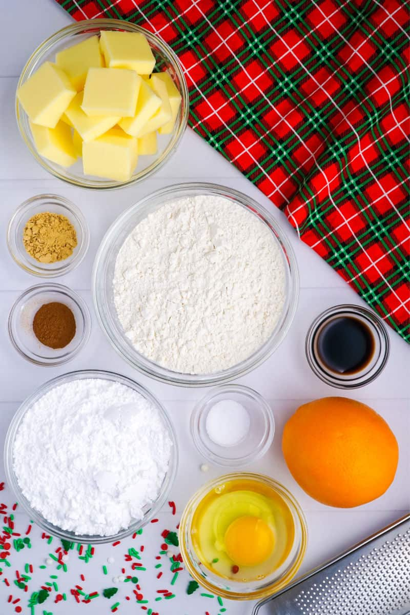 swedish christmas cookie ingredients
