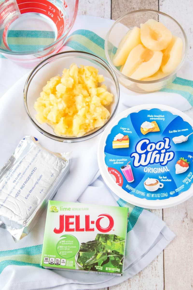 lime jello salad ingredients